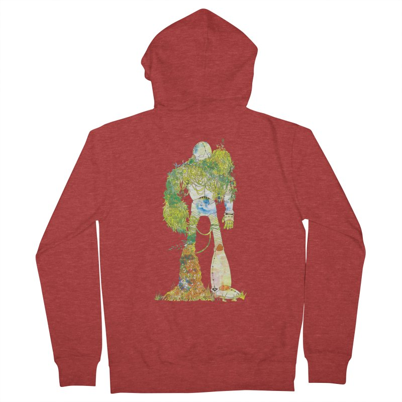 No More Machines Women's French Terry Zip-Up Hoody by machmigo1's Artist Shop