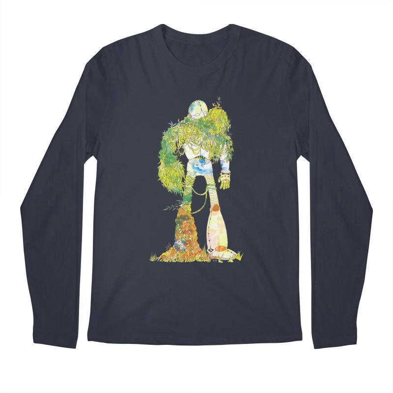 No More Machines Men's Regular Longsleeve T-Shirt by machmigo1's Artist Shop