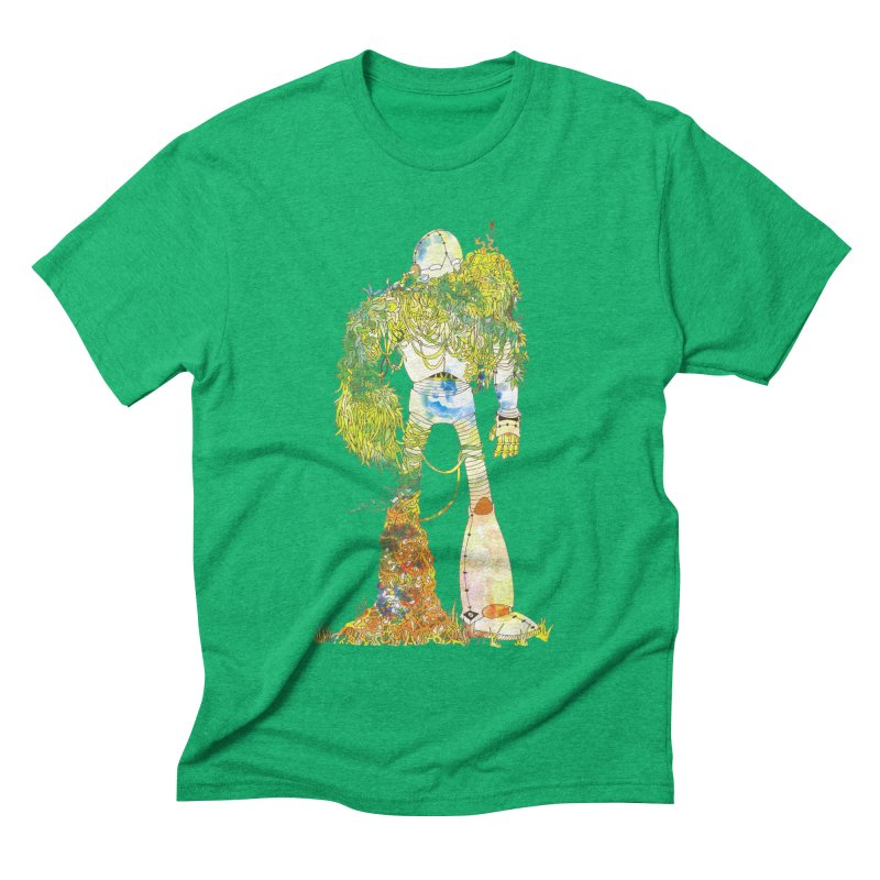 No More Machines Men's Triblend T-shirt by machmigo1's Artist Shop