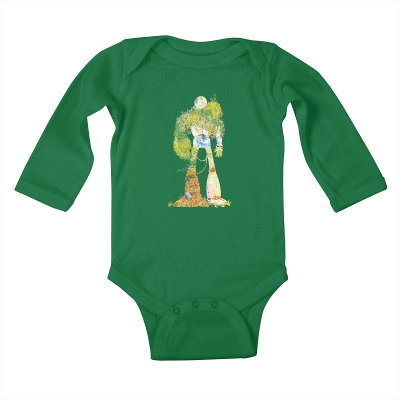 No More Machines Kids Baby Longsleeve Bodysuit by machmigo1's Artist Shop