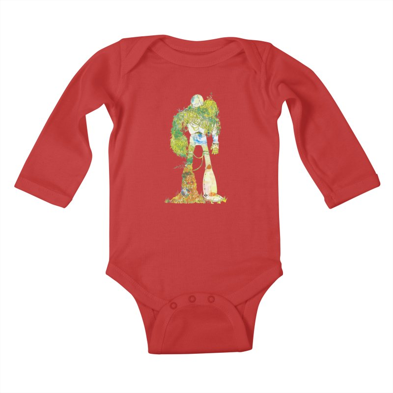 No More Machines Kids Baby Longsleeve Bodysuit by machmigo1's Artist Shop