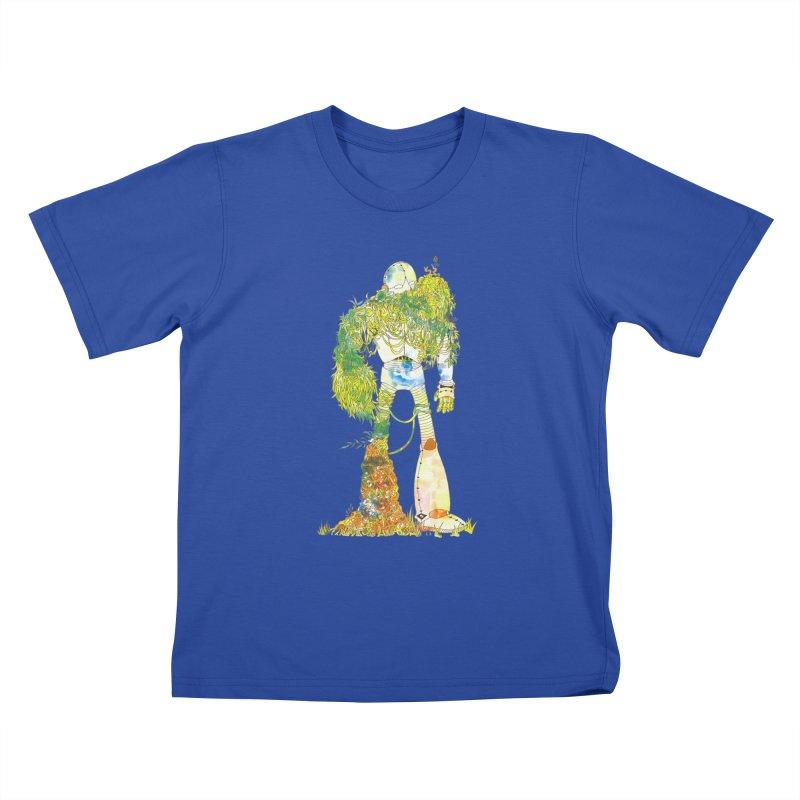 No More Machines Kids T-Shirt by machmigo1's Artist Shop