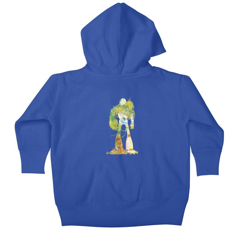 No More Machines Kids Baby Zip-Up Hoody by machmigo1's Artist Shop