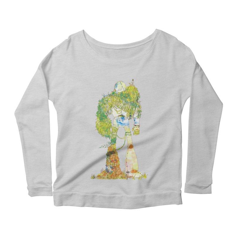No More Machines Women's Scoop Neck Longsleeve T-Shirt by machmigo1's Artist Shop
