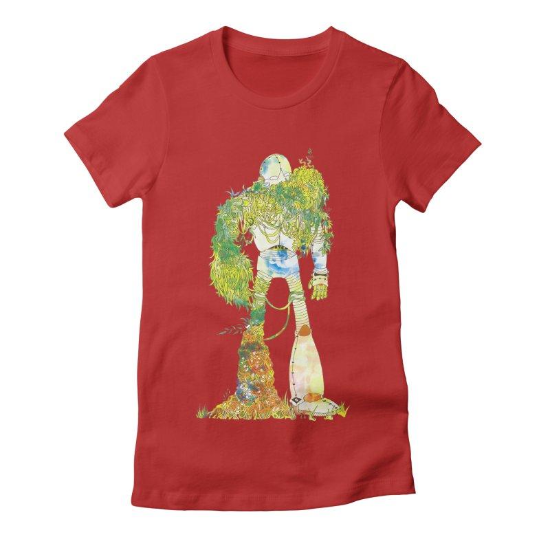 No More Machines Women's Fitted T-Shirt by machmigo1's Artist Shop