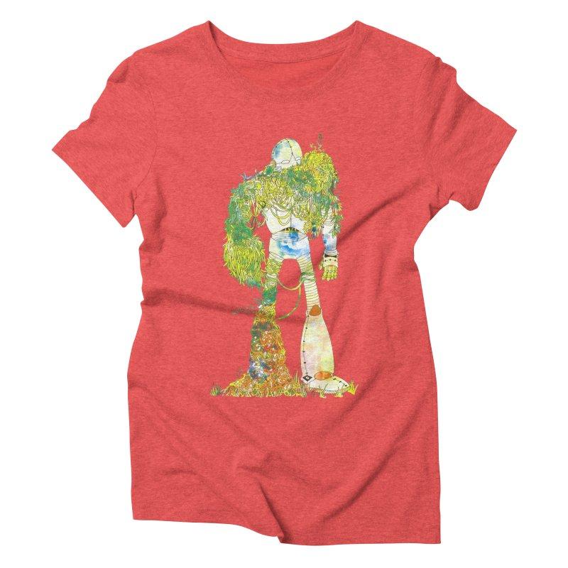 No More Machines Women's Triblend T-Shirt by machmigo1's Artist Shop