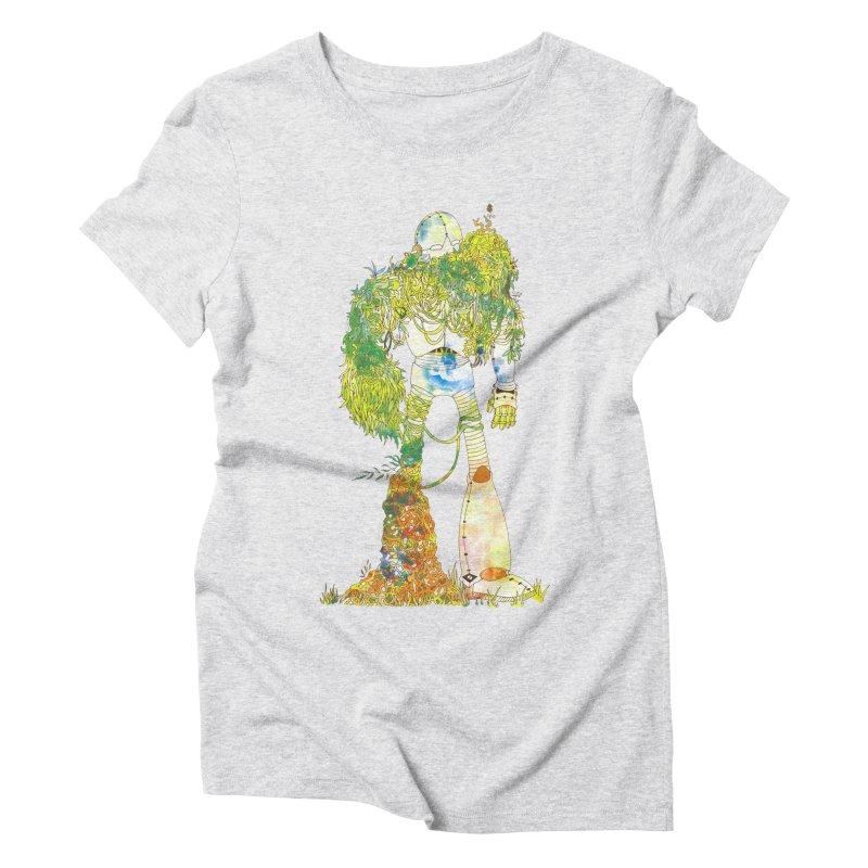 No More Machines Women's T-Shirt by machmigo1's Artist Shop