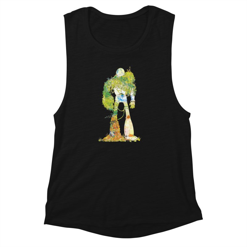 No More Machines Women's Muscle Tank by machmigo1's Artist Shop