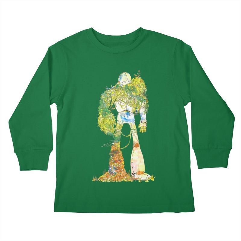 No More Machines Kids Longsleeve T-Shirt by machmigo1's Artist Shop