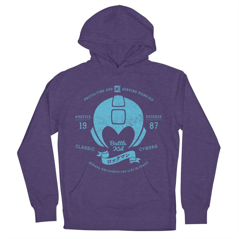 Battle Kid Women's French Terry Pullover Hoody by machmigo1's Artist Shop