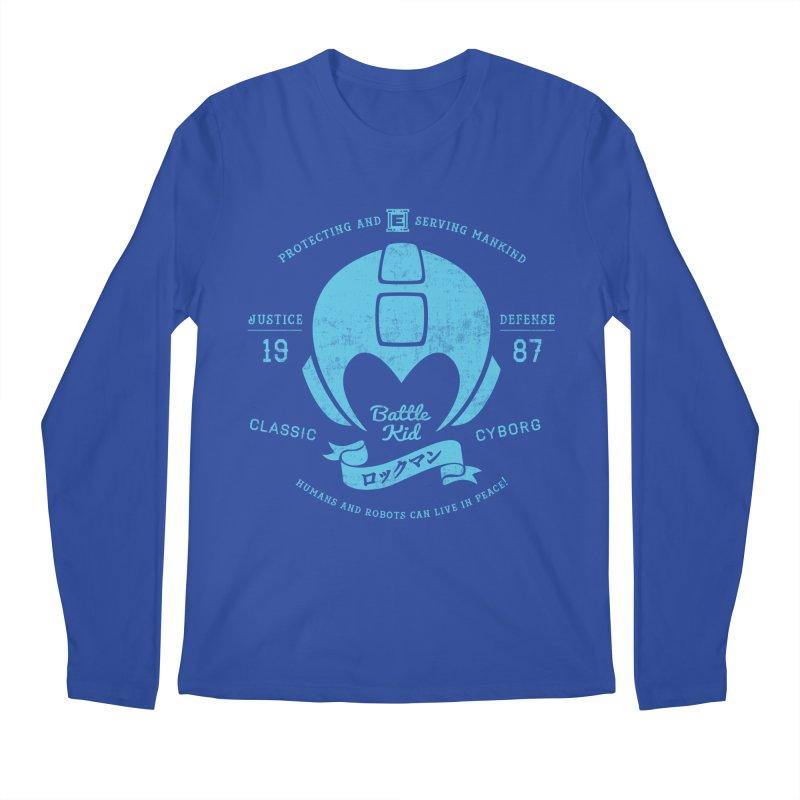Battle Kid Men's Longsleeve T-Shirt by machmigo1's Artist Shop