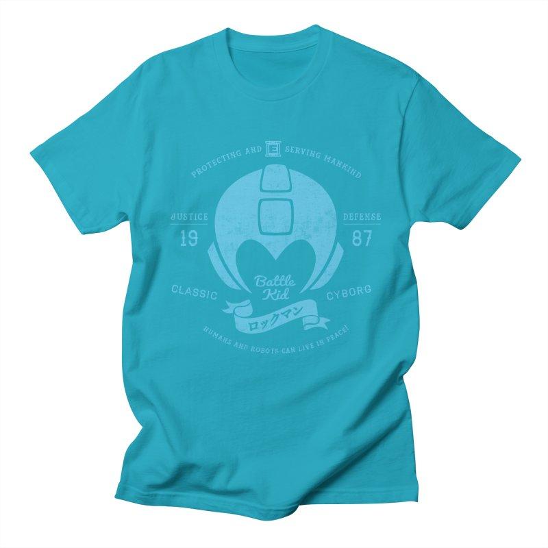 Battle Kid Men's Regular T-Shirt by machmigo1's Artist Shop