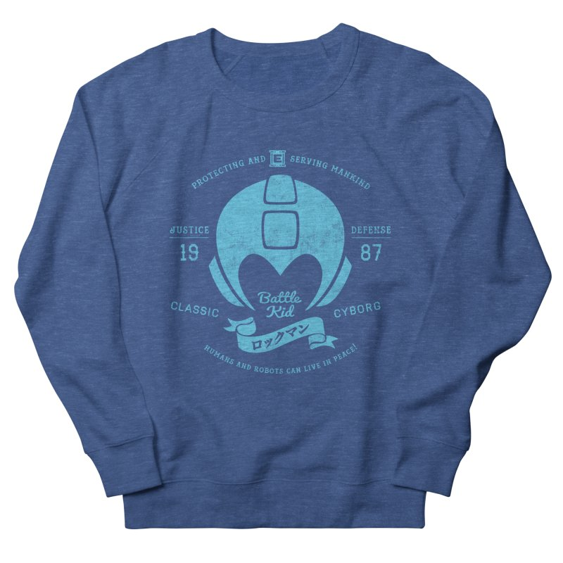 Battle Kid Women's French Terry Sweatshirt by machmigo1's Artist Shop
