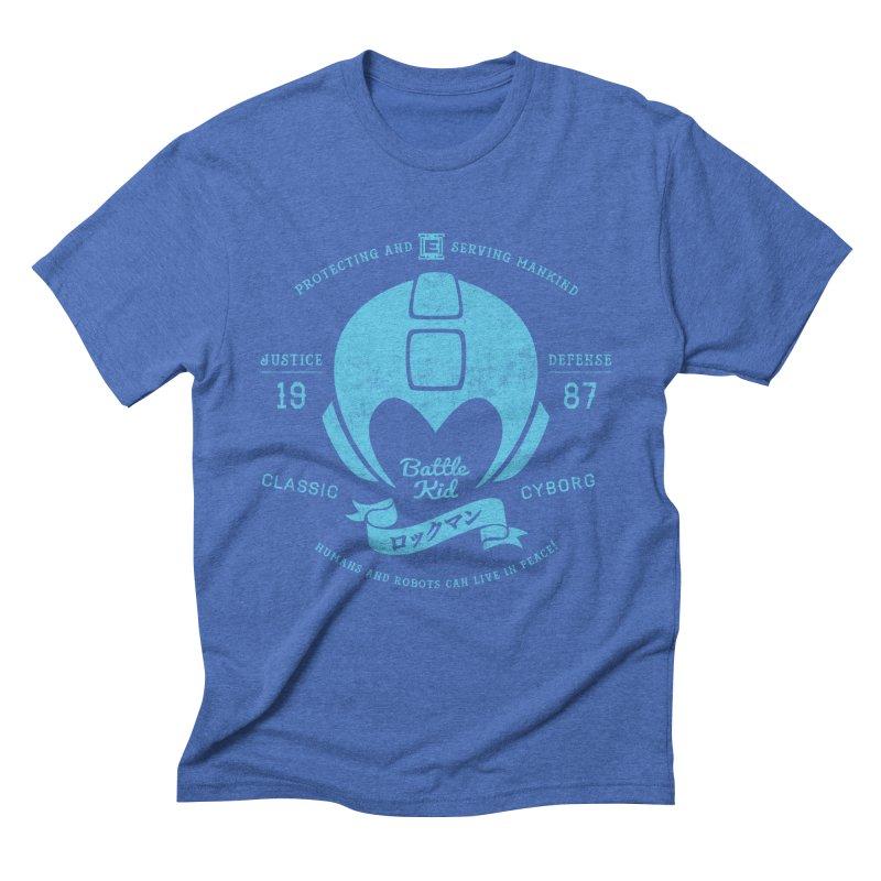 Battle Kid Men's T-Shirt by machmigo1's Artist Shop