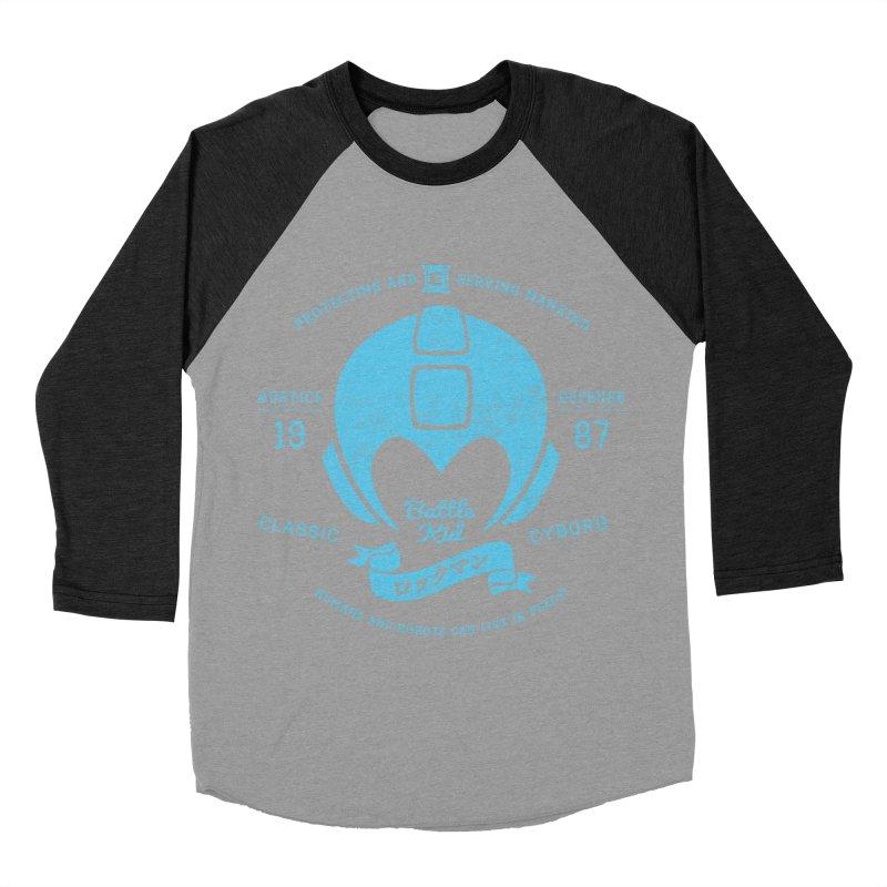 Battle Kid Women's Baseball Triblend Longsleeve T-Shirt by machmigo1's Artist Shop