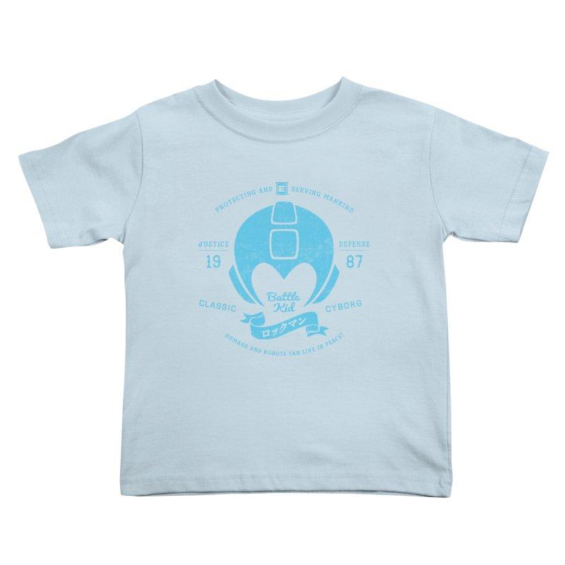 Battle Kid Kids Toddler T-Shirt by machmigo1's Artist Shop