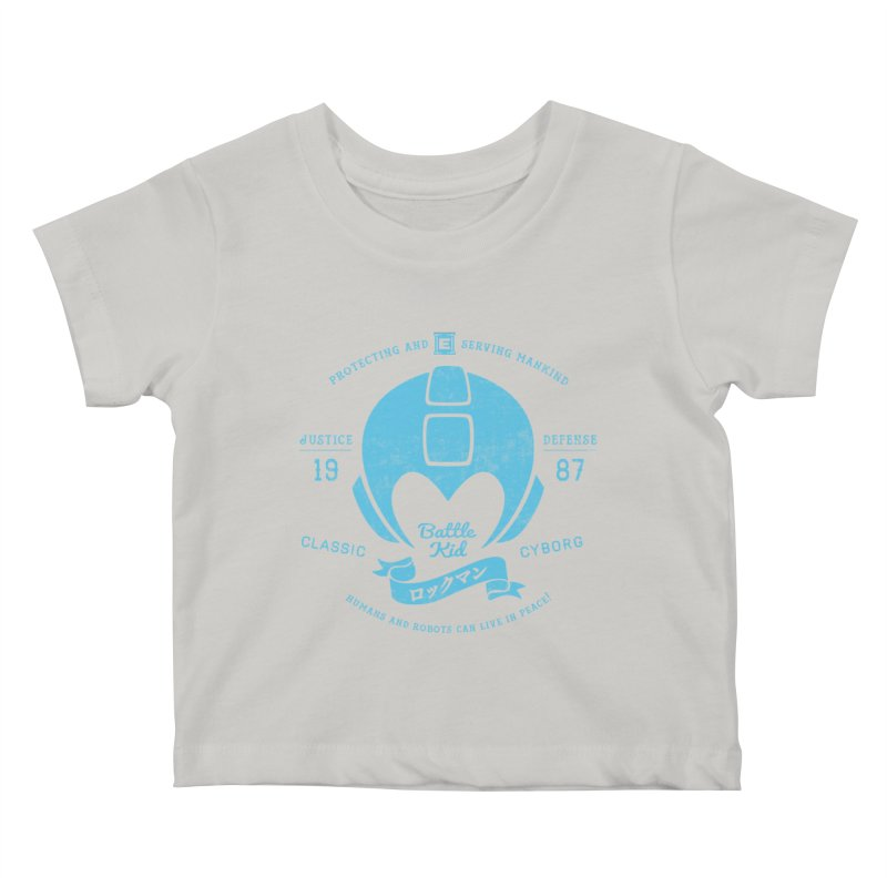 Battle Kid Kids Baby T-Shirt by machmigo1's Artist Shop