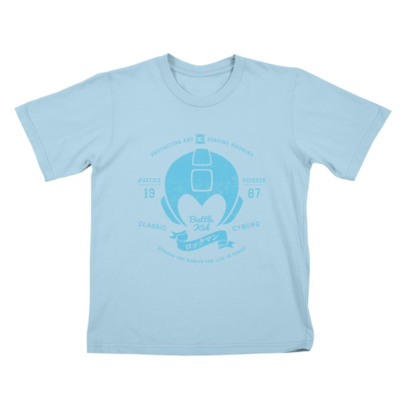 Battle Kid Kids T-shirt by machmigo1's Artist Shop