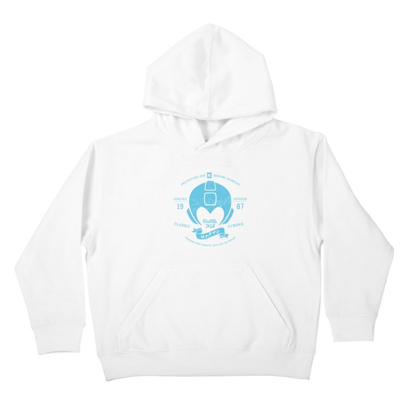 Battle Kid Kids Pullover Hoody by machmigo1's Artist Shop