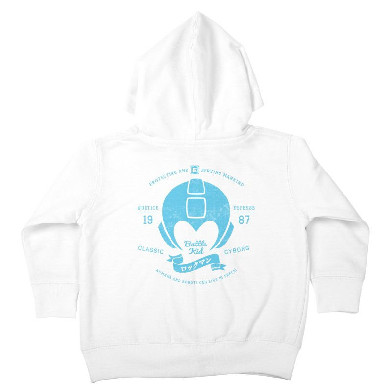 Battle Kid Kids Toddler Zip-Up Hoody by machmigo1's Artist Shop