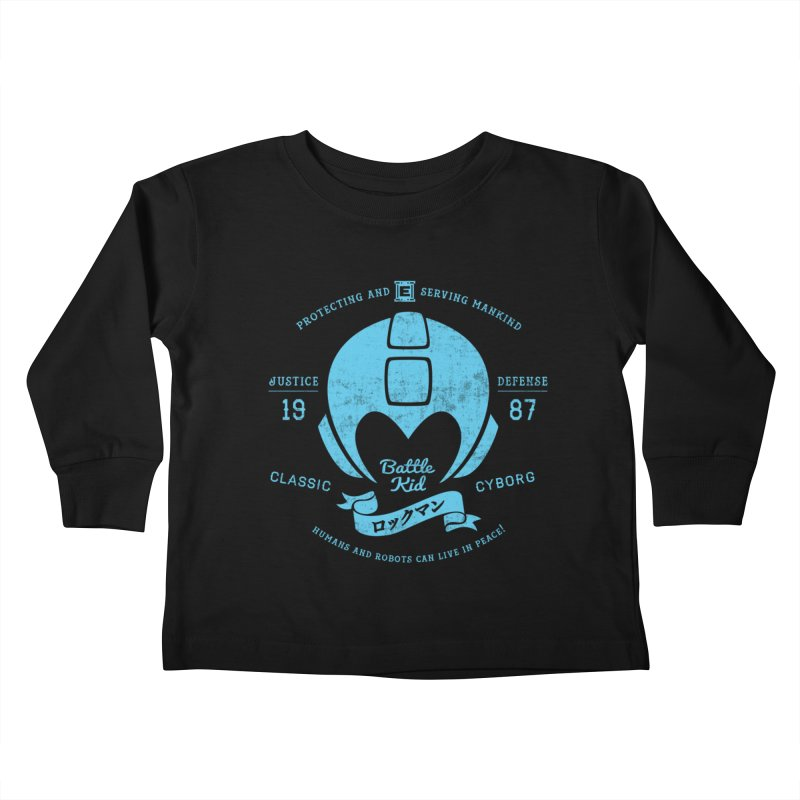 Battle Kid Kids Toddler Longsleeve T-Shirt by machmigo1's Artist Shop