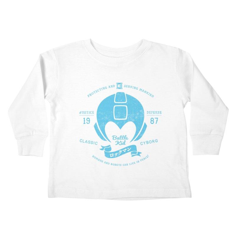Battle Kid Kids Toddler Longsleeve T-Shirt by machmigo1's Artist Shop