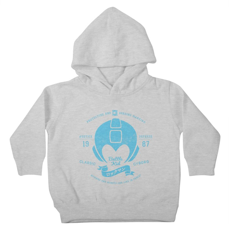 Battle Kid Kids Toddler Pullover Hoody by machmigo1's Artist Shop