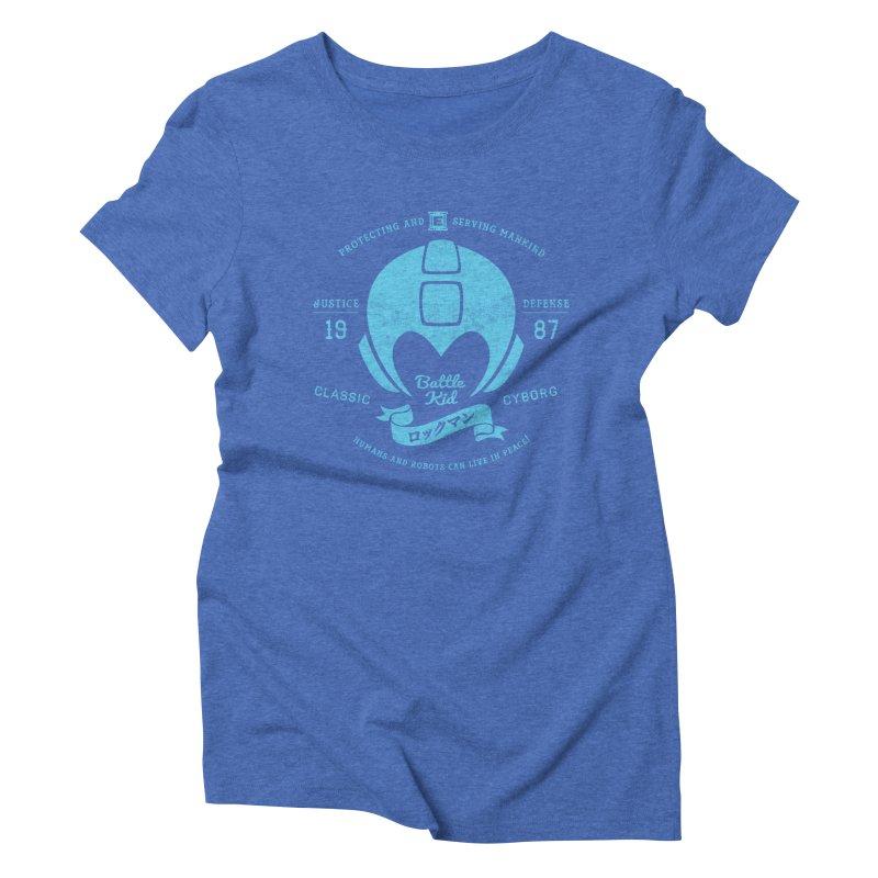 Battle Kid Women's Triblend T-shirt by machmigo1's Artist Shop