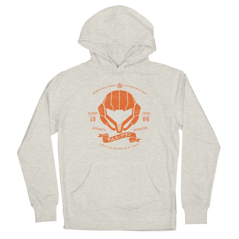 Orange Armor Men's French Terry Pullover Hoody by machmigo1's Artist Shop
