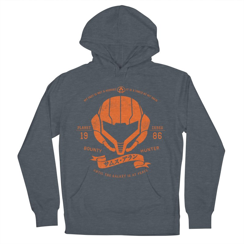 Orange Armor Women's French Terry Pullover Hoody by machmigo1's Artist Shop