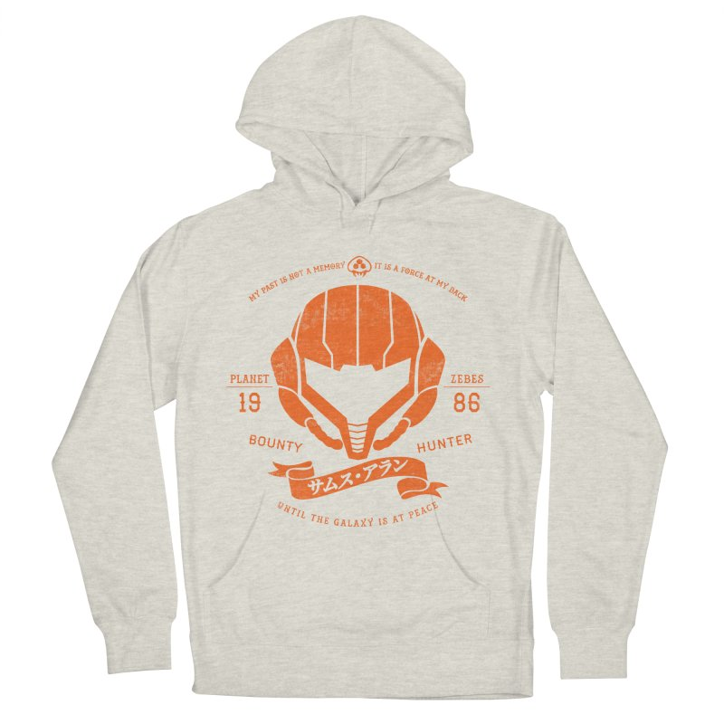Orange Armor Men's French Terry Pullover Hoody by machmigo1's Artist Shop
