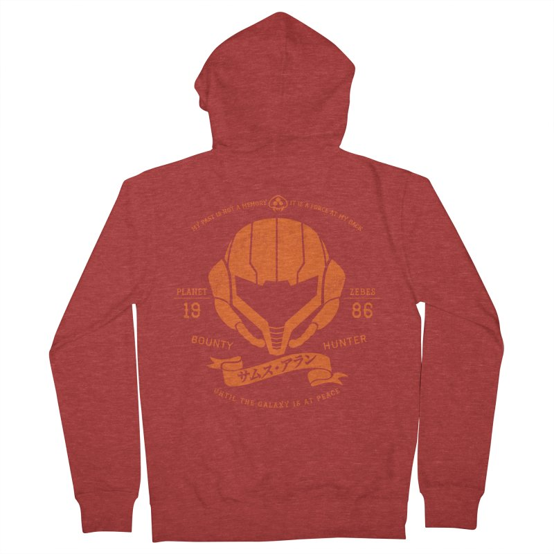 Orange Armor Women's Zip-Up Hoody by machmigo1's Artist Shop