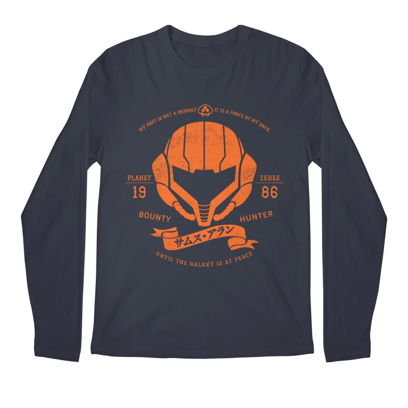 Orange Armor Men's Longsleeve T-Shirt by machmigo1's Artist Shop