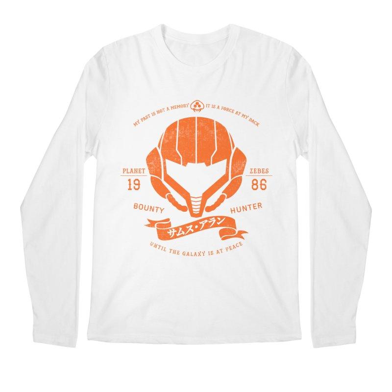 Orange Armor Men's Longsleeve T-Shirt by machmigo1's Artist Shop