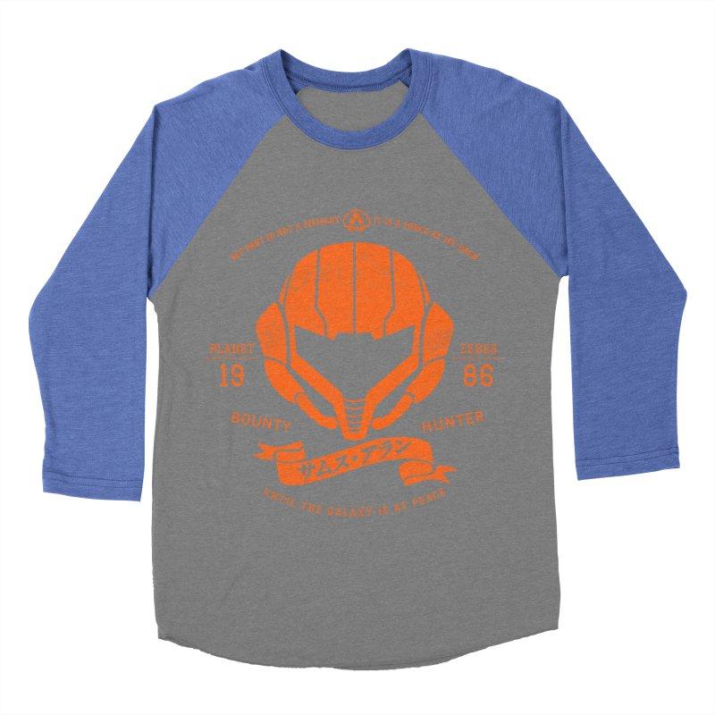 Orange Armor Men's Baseball Triblend Longsleeve T-Shirt by machmigo1's Artist Shop