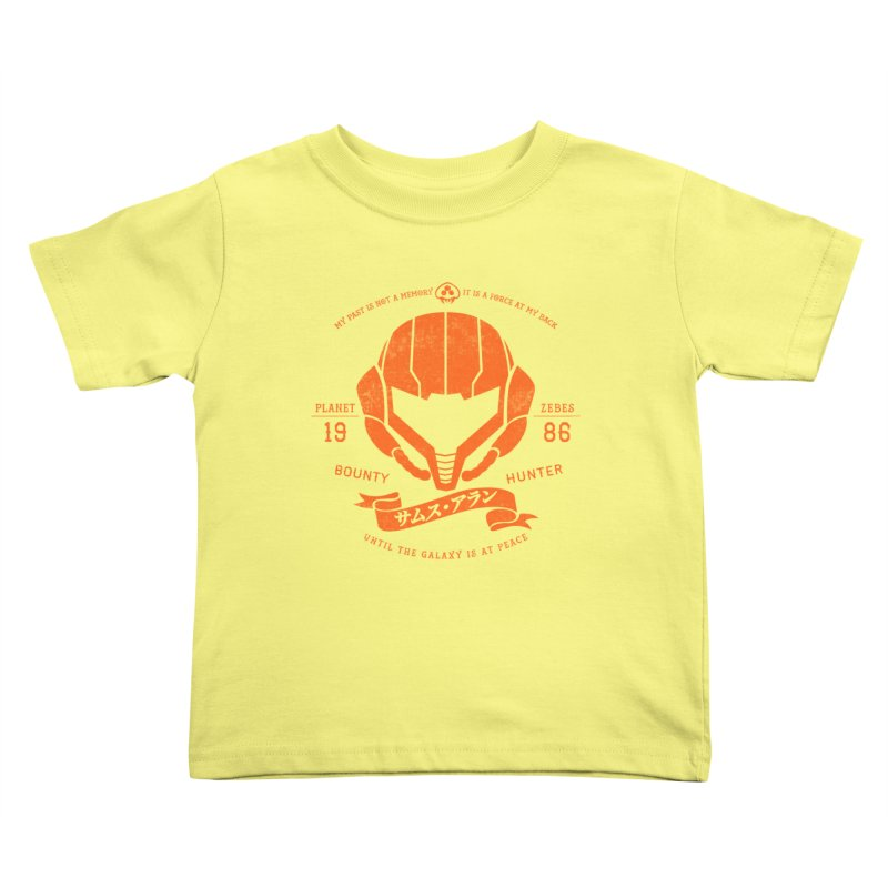 Orange Armor Kids Toddler T-Shirt by machmigo1's Artist Shop