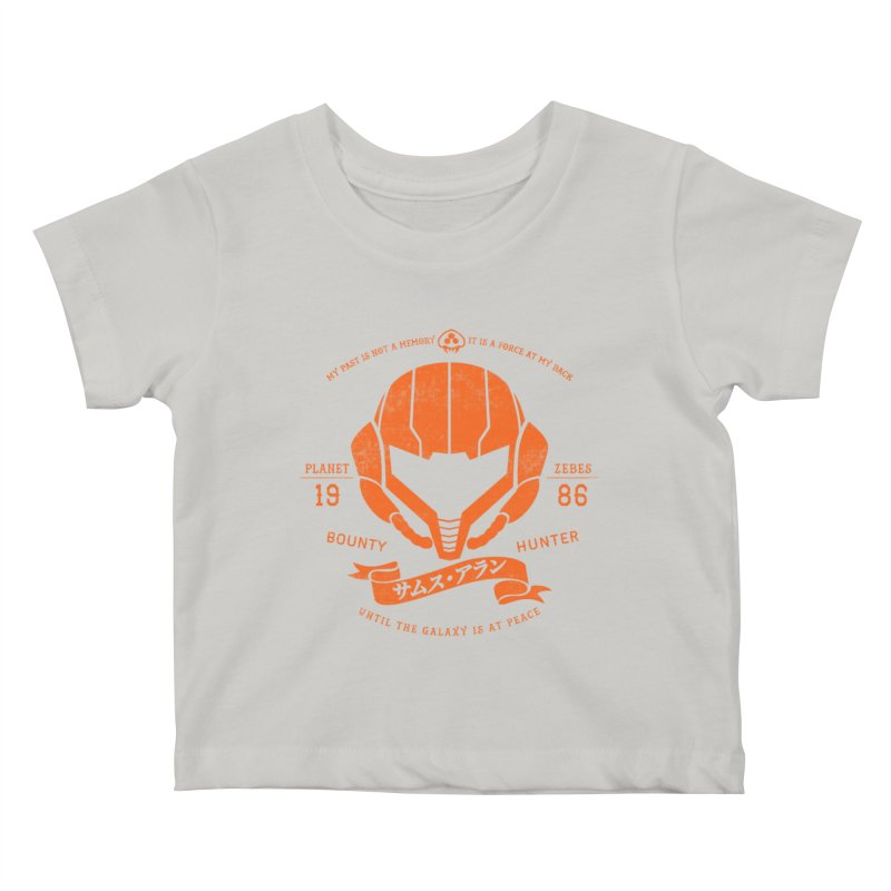 Orange Armor Kids Baby T-Shirt by machmigo1's Artist Shop