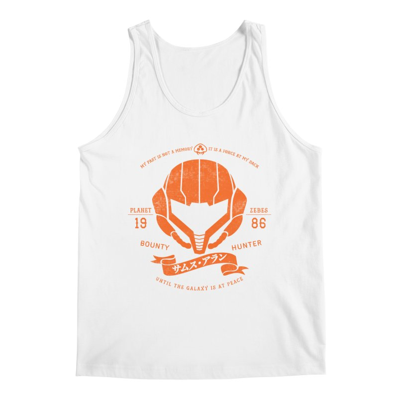 Orange Armor Men's Regular Tank by machmigo1's Artist Shop