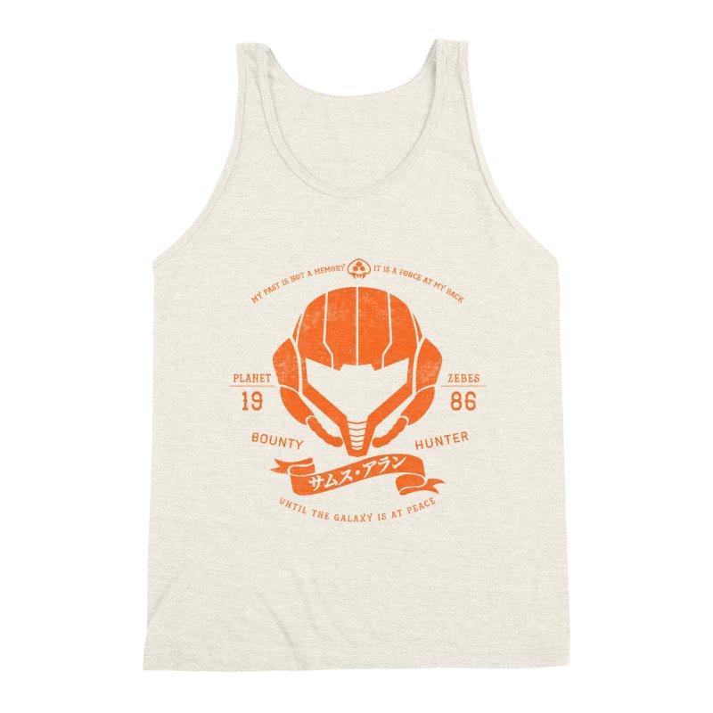 Orange Armor Men's Triblend Tank by machmigo1's Artist Shop
