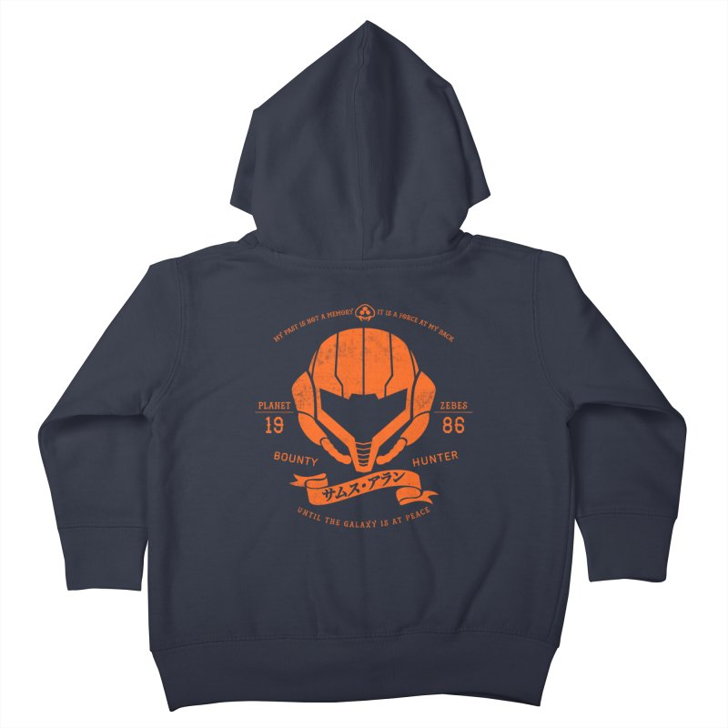 Orange Armor Kids Toddler Zip-Up Hoody by machmigo1's Artist Shop
