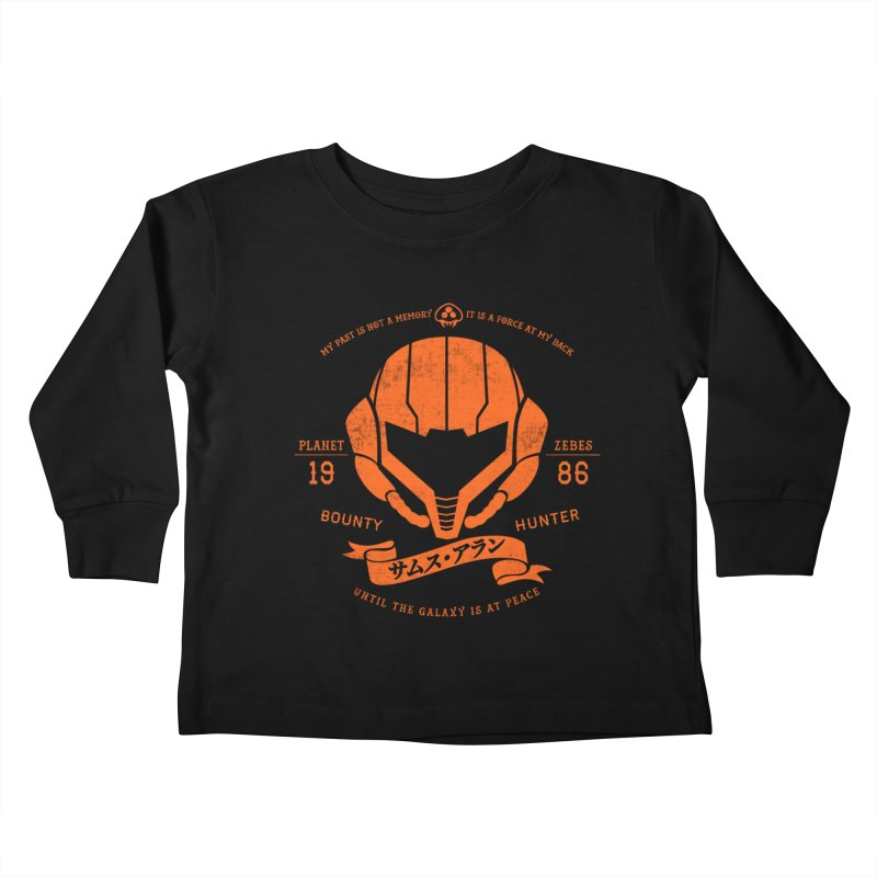 Orange Armor Kids Toddler Longsleeve T-Shirt by machmigo1's Artist Shop