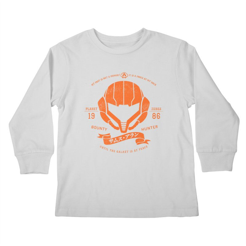 Orange Armor Kids Longsleeve T-Shirt by machmigo1's Artist Shop