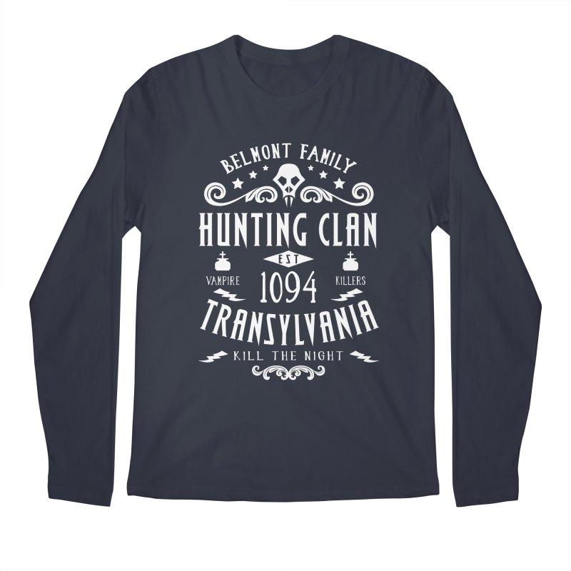 Belmont Clan Men's Longsleeve T-Shirt by machmigo1's Artist Shop
