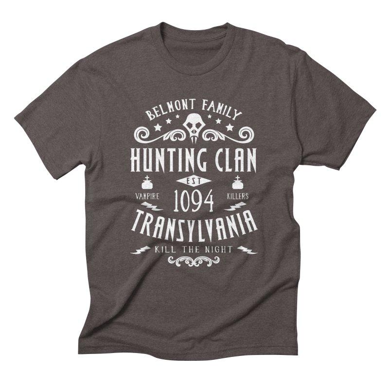 Belmont Clan Men's Triblend T-Shirt by machmigo1's Artist Shop