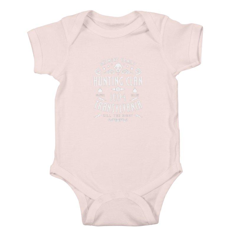 Belmont Clan Kids Baby Bodysuit by machmigo1's Artist Shop