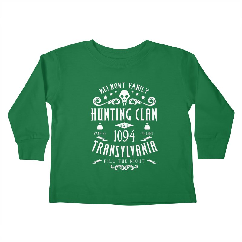 Belmont Clan Kids Toddler Longsleeve T-Shirt by machmigo1's Artist Shop