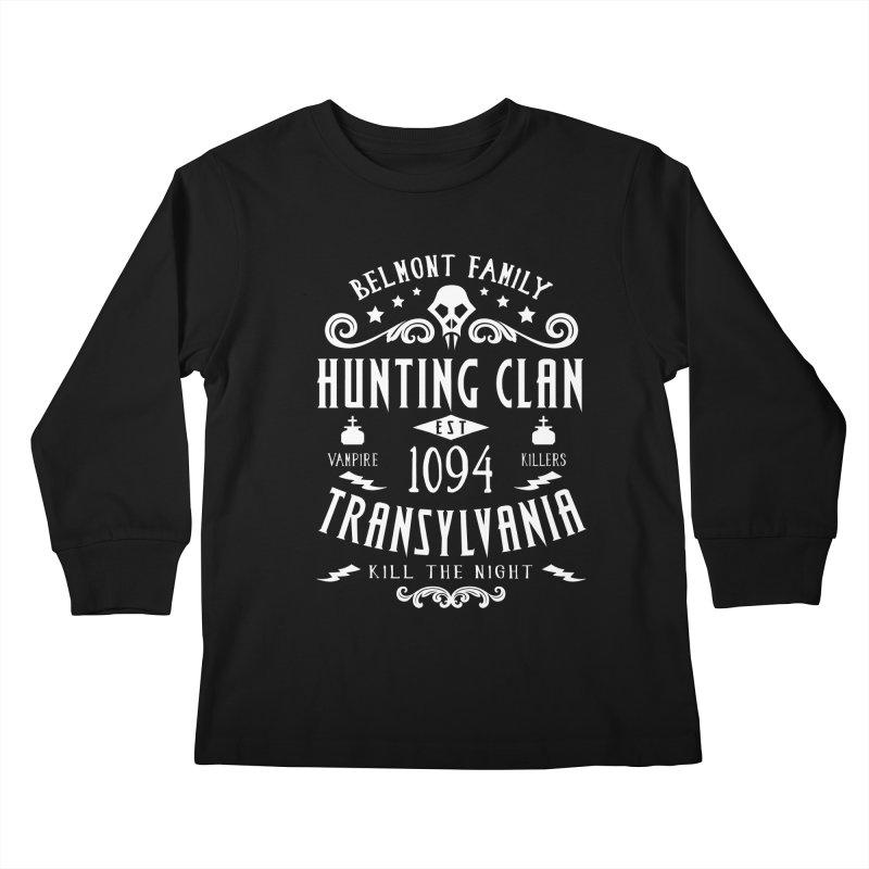 Belmont Clan Kids Longsleeve T-Shirt by machmigo1's Artist Shop