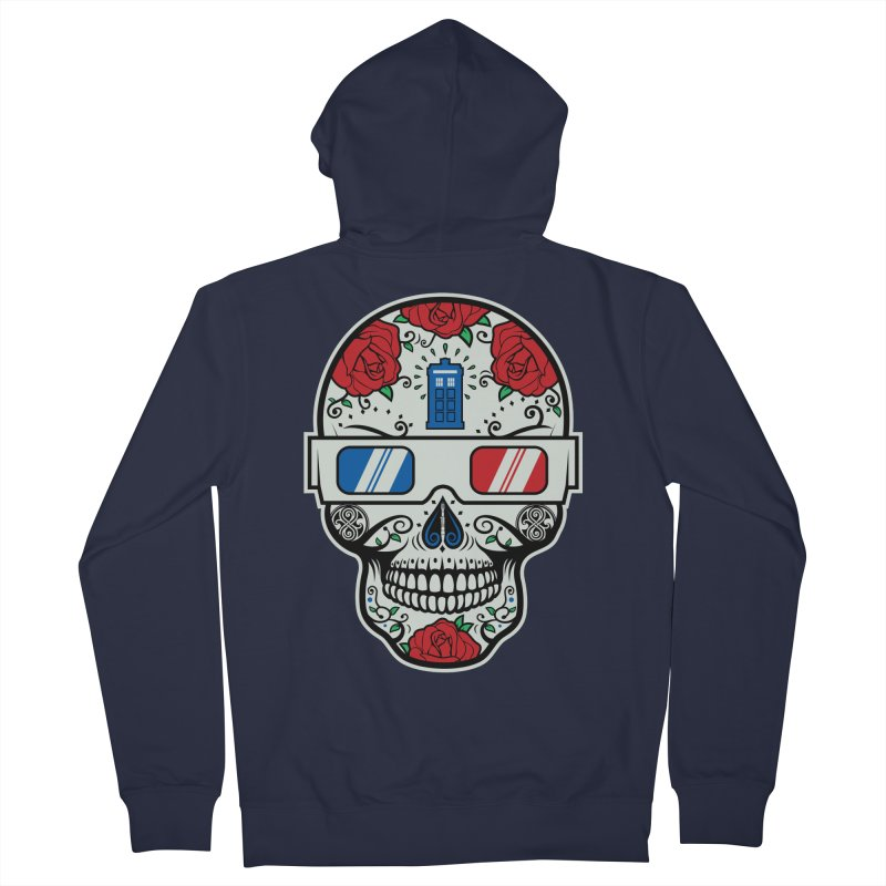 De Las Diez Men's French Terry Zip-Up Hoody by machmigo1's Artist Shop
