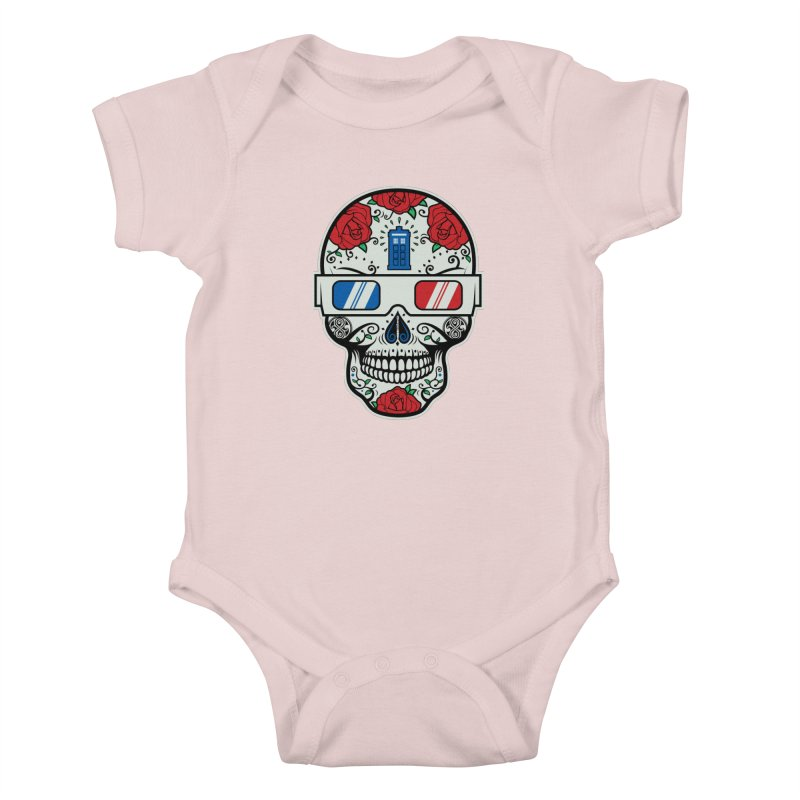 De Las Diez Kids Baby Bodysuit by machmigo1's Artist Shop