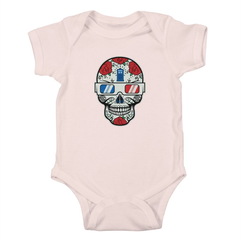 De Las Diez Kids Baby Bodysuit by machmigo1's Artist Shop